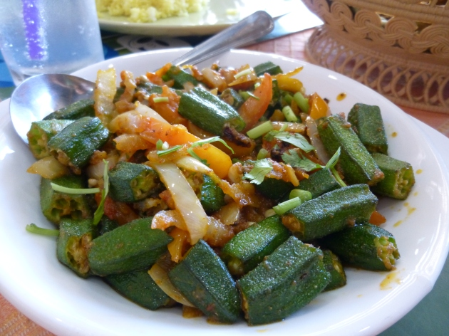Okra at Kohinoor