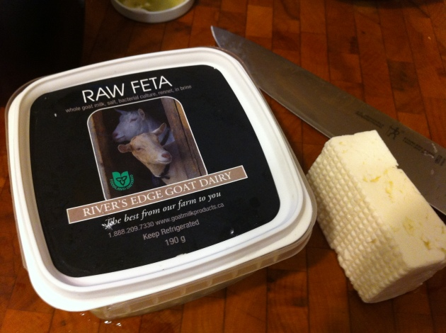 Raw Feta - River's Edge Goat Dairy | kitchenoperas.com