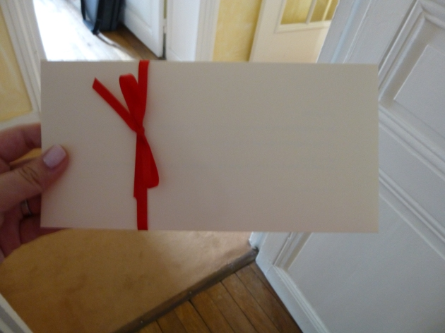 Surprise envelope | kitchenoperas.com