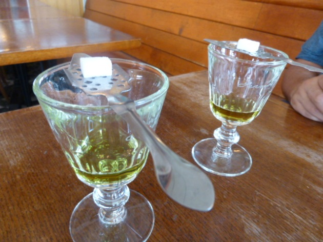 Absinthe at La Fée Verte | kitchenoperas.com