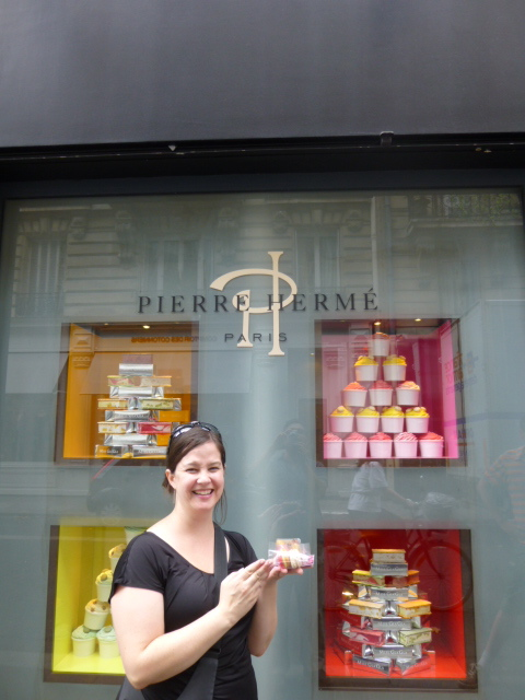 Lindsay at Pierre Hermé | kitchenoperas.com