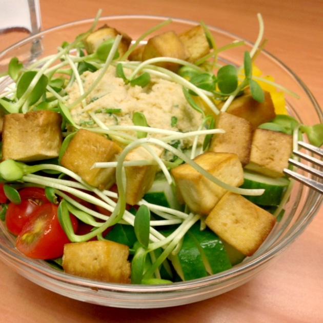 Ashley's Hummus Salad