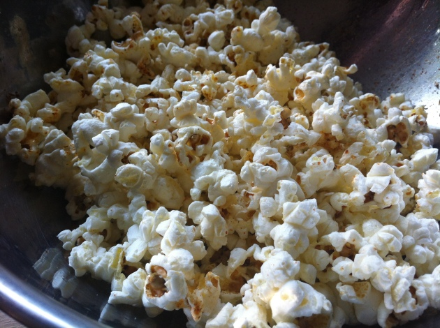 Chili Lime Popcorn | kitchenoperas.com