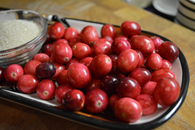Cranberries for Mulled Wine | kitchenoperas.com