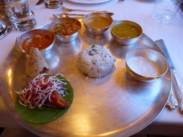 Vegetarian Thali | kitchenoperas.com