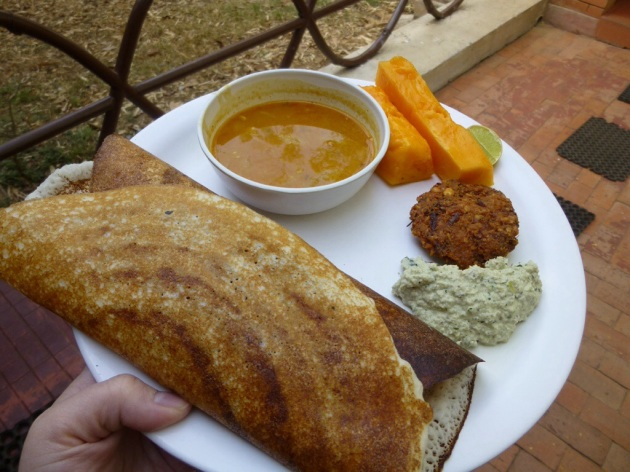 Masala Dosa in Kabini | kitchenoperas.com