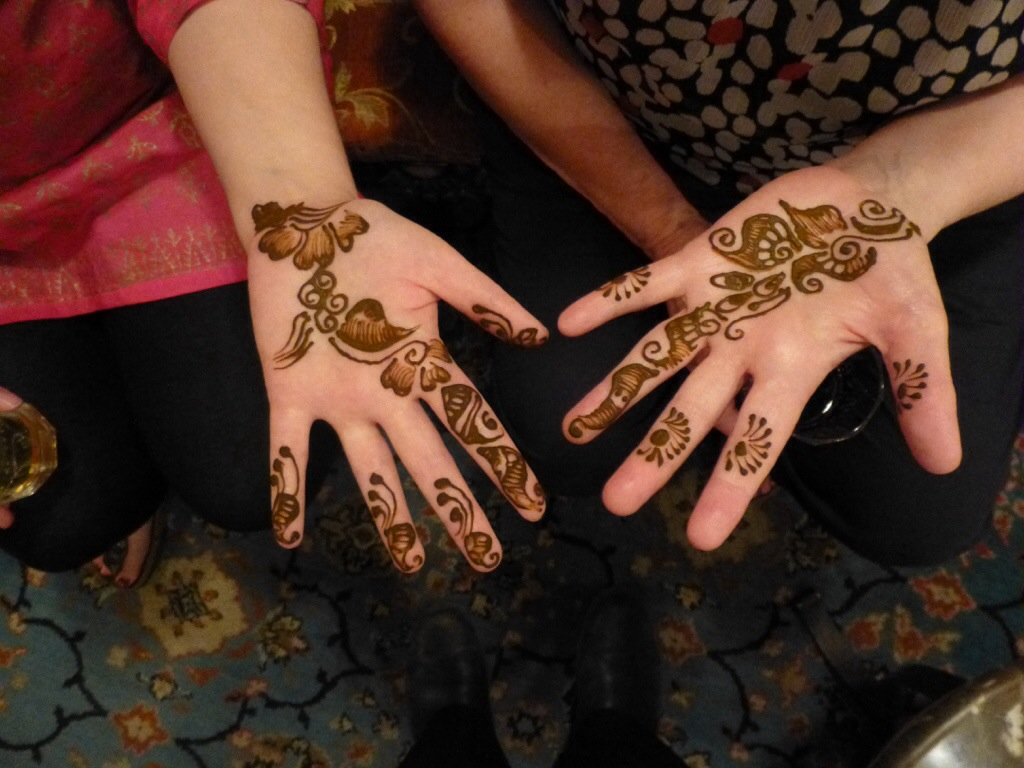 Mendhi (henna tattoos) | kitchenoperas.com