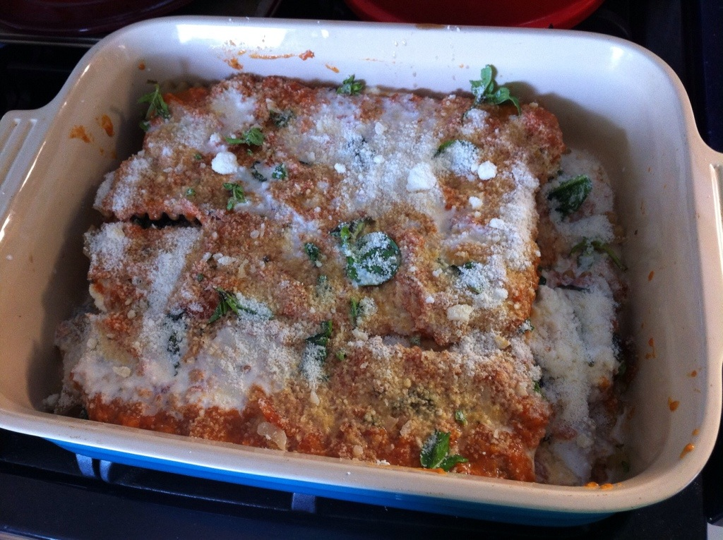 Gluten-Free Veggie Lasagna with Whole Milk Ricotta | kitchenoperas.com