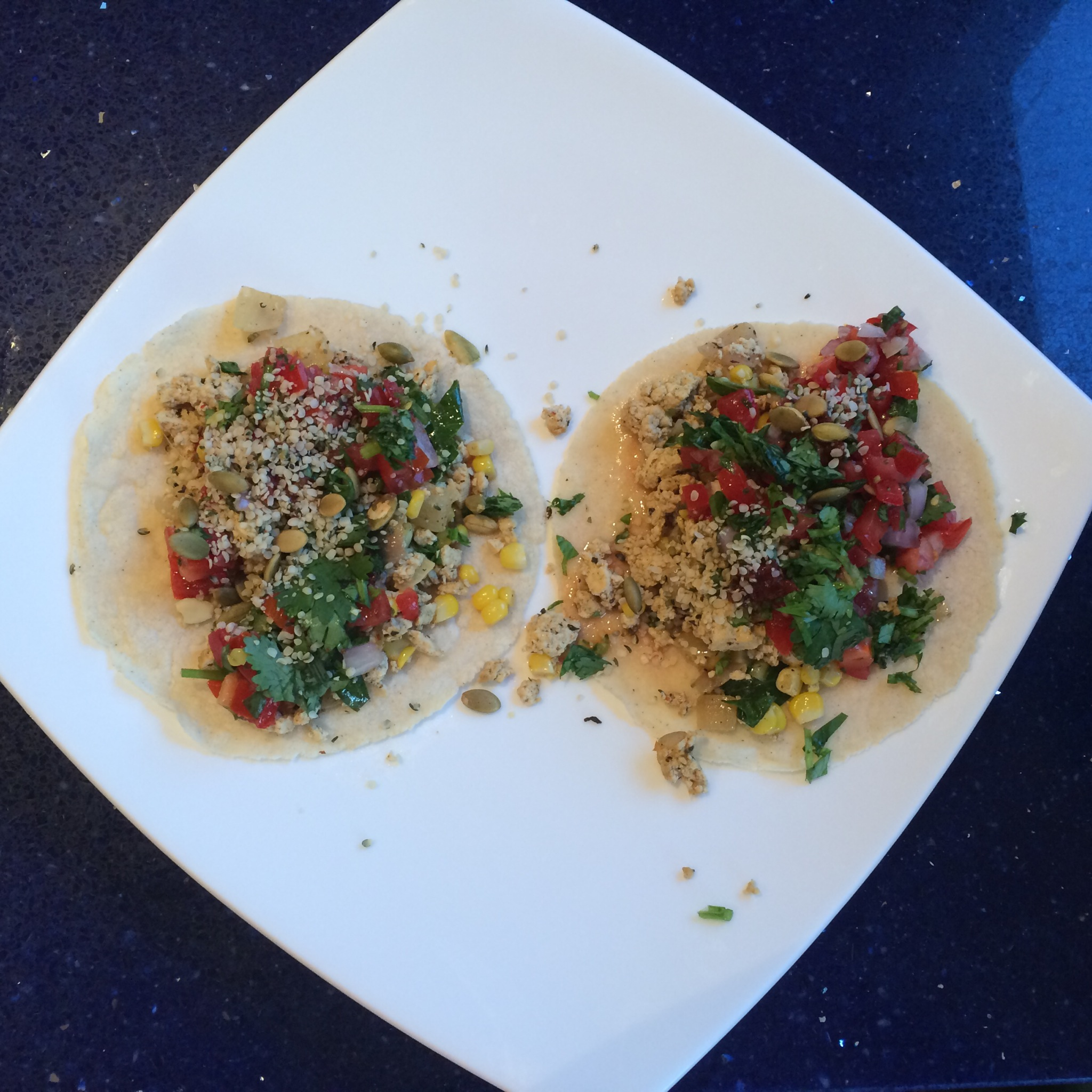 Vegan Breakfast Tacos | kitchenoperas.com