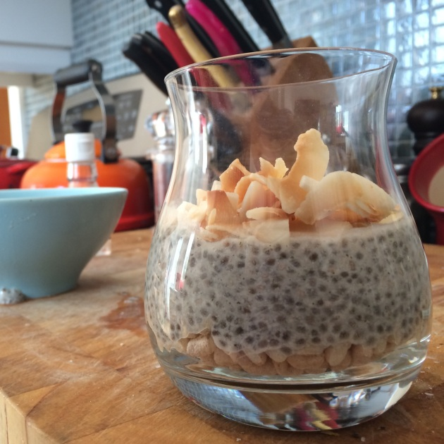 Cardamom &  Almond Chia Pudding | kitchenoperas.com