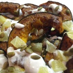 Roasted Squash with Tahini and Lemons | kitchenoperas.com