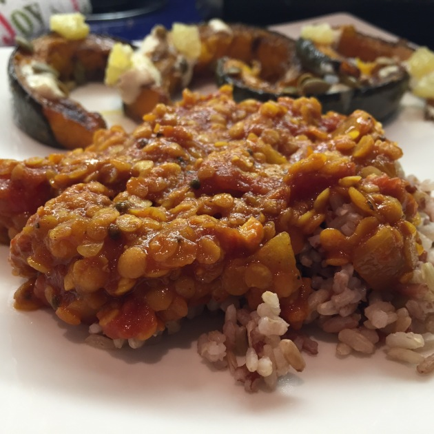 Spicy Red Lentils | kitchenoperas.com