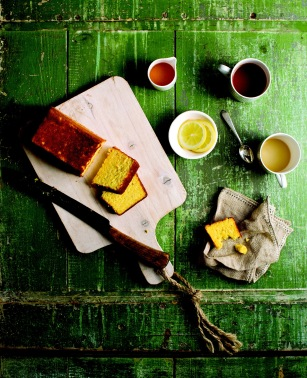 "Boiled Orange and Almond Cake from ""Good Food Fast"" by Jason Roberts 