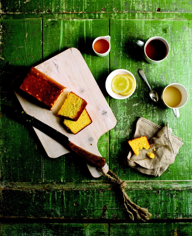 """Boiled Orange and Almond Cake from """"Good Food Fast"""" by Jason Roberts 