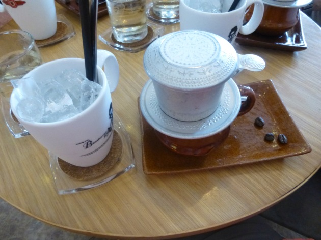 Vietnamese Iced Coffee at Trung Nyugen, Ho Chi Minh City | kitchenoperas.com