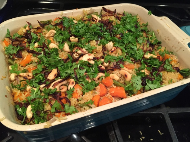 Roasted Vegetable Biryani | kitchenoperas.com